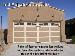Decorative Garage Door Windows And Trim At Grande Garage Doors