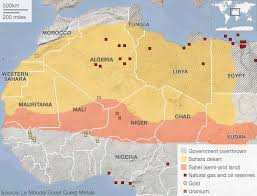 sahel desert map the rise of islamist militants in the
