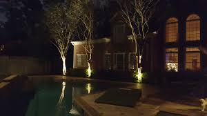 Houston Landscape Lighting Tree Deck Dock Patio Sidewalk Waterscapes Outdoor Lighting