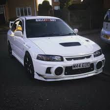 used mitsubishi evo mitsubishi evo 4 with evo 5 engine good spec clean in