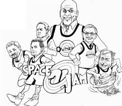space jam coloring pages eson me