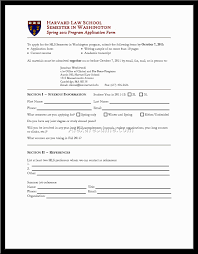 Harvard Resume Samples Pdf by Sample Resume For Law Application