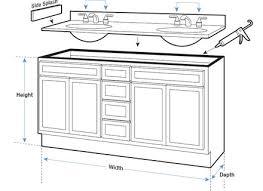Standard Kitchen Base Cabinet Height Bathroom Cabinets Dimensions Benevolatpierredesaurel Org