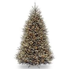 7 5 ft dunhill blue fir hinged christmas tree clear hayneedle