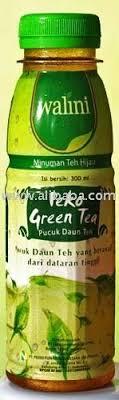 Teh Walini walini peko bottled green tea buy tea product on alibaba