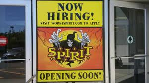 spirit halloween employment spirit halloween before opening 2016 day 1 youtube