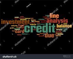 vector concept conceptual credit card line stock vector 583313632