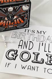 free printable golf birthday cards free its my birthday printables