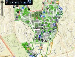 Uc Berkeley Campus Map Map Ucla Priltk