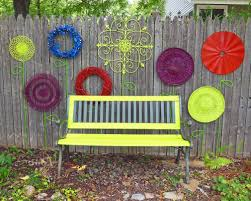 Garden Baskets Wall by Use Round Flat Items Old Wall Hangings Wreaths Flattened Iron
