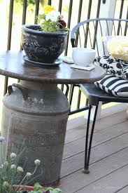 outdoor table ideas easy and fun diy outdoor furniture ideas