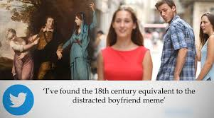 Checking Out Meme - remember the unfaithful man photo turns out there is an 18th