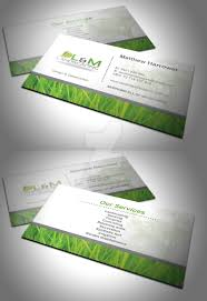 l and m landscaping business card by 6thsensedesign on deviantart