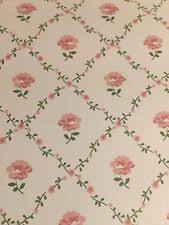 vintage retro floral wallpaper rolls u0026 sheets ebay