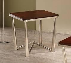 brushed nickel coffee table brushed nickel coffee table 3pc coffee table set coaster wbrushed