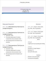Sample Resume Formats For Freshers by 40 Blank Resume Templates U2013 Free Samples Examples Format