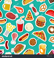 food ornament feed pattern background stock vector 516247864