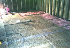 Basement Floor Insulation Woodfdn