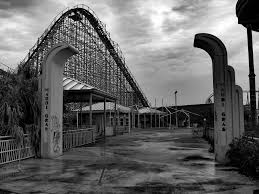 Six Flag New Orleans Abandoned Six Flags New Orleans Top Of Mega Zeph Wooden R U2026 Flickr