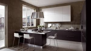 incredible modern open kitchen design with white floating cabinet