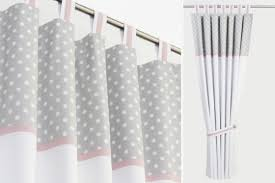 gray polka dot curtains grey and pink shower curtain curtain ideas