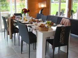 table de cuisine 8 places gîte 10g168 à chavanges aube en chagne ardenne