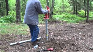 how to install a hand pump water well the tent well finally