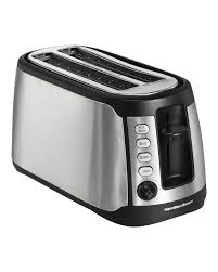 Breville A Bit More 4 Slice Toaster Hamilton Beach Long Slot 4 Slice Toaster U0026 Reviews Wayfair