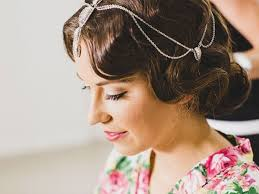 vintage bridal hair vintage wedding hair styles coastal style mobile hairdressing