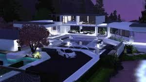 sims 3 modern villa youtube