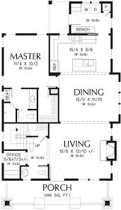 bungalow floor plan bungalow style house plan 3 beds 2 5 baths 1777 sq ft plan 48 646