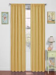 Yellow Blackout Curtains Nursery Curtains And Drapes