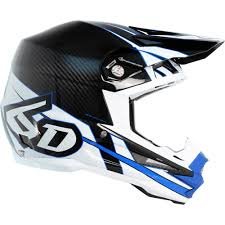 blue motocross helmets 6d helmets new mx 2017 atr 1 electric blue carbon fiber ods