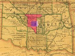 Map Oklahoma Doug Dawgz Blog Maps And History Of Oklahoma County 1830 1900 1