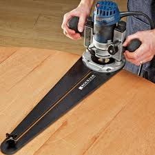 Fine Woodworking Trim Router Review by Trim Router Circle Jig Rockler Woodworking Tools
