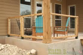 beautiful concrete patio railing ideas front porch railing home