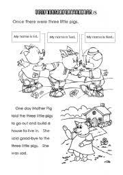 pigs worksheets buscar google fichas