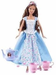 barbie princess collection tea party barbie erika doll h4802