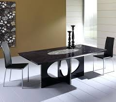 dining table modern lacquered pedestal dining table black
