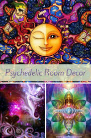 Trippy Room Decor Cool Trippy And Bold Psychedelic Room Decor Xpressionportal