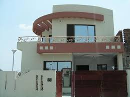 Pakistani Modern Homes Designs Front Views Pictures - Front home design