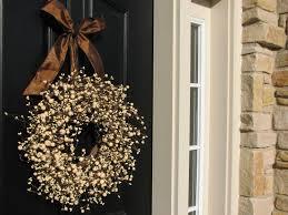 Modern Front Door Decor by Front Doors Awesome Unique Front Door Wreath 135 Unusual Front