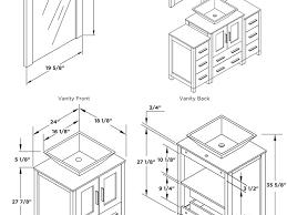 bathroom vanity 18 depth perfect bathroom sink dimensions height intended decorating ideas
