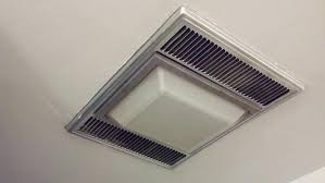 Bathroom Light With Exhaust Fan Heat Light Bathroom Lighting Install Infrared L