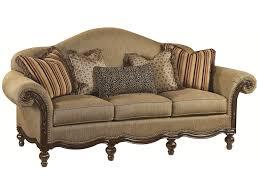 Thomasville Reclining Sofa by Thomasville Ernest Hemingway 462 Pauline Camel Back Sofa With