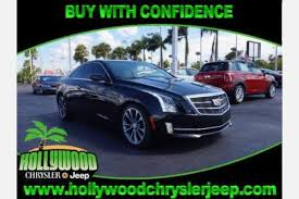 buy cadillac ats used cadillac ats coupe for sale in miami fl edmunds