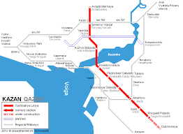 map of kazan urbanrail net europe russia kazan metro
