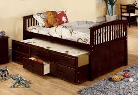 Furniture Of America Bedroom Sets Furniture Of America Vella Captain Bed With Trundle And Drawers