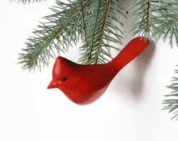owl christmas tree ornament handmade rustic wooden tree