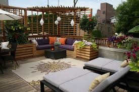 Outdoor Patio Design Outdoor Patio With Seat Landscaping Gardening Ideas